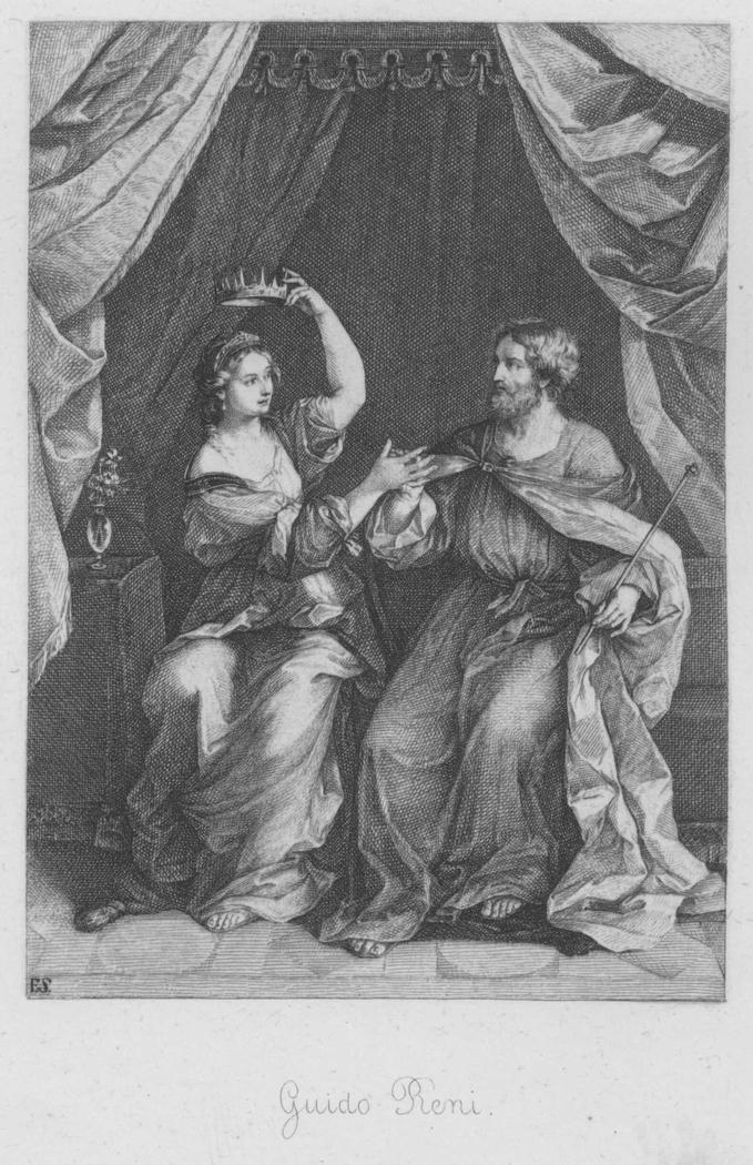 Ninus donnant sa couronne à Semiramis (toile)