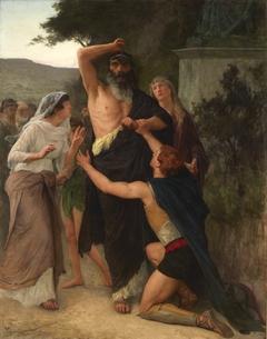 Oedipe maudit son fils Polynice