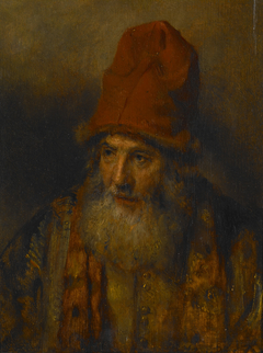 Old Man with a Tall, Fur-edged Cap