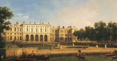 Old Somerset House from the River Thames