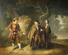 Parsons, Bransby, And Watkyns In A Scene From Lethe