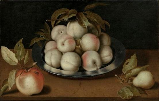 Peaches on a Tin Plate