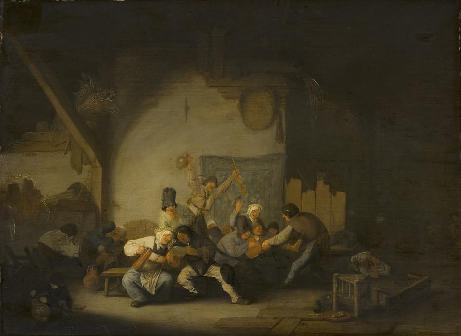 Peasants Making Merry