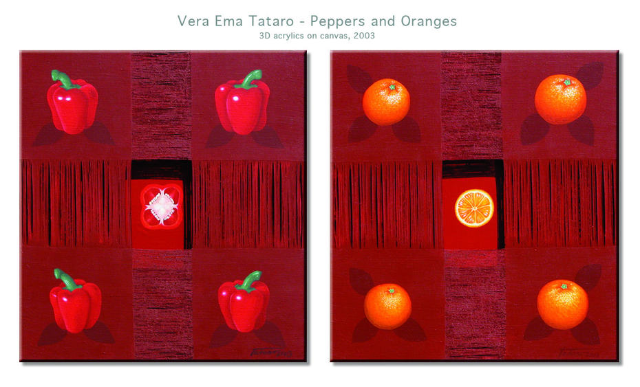 Peppers and Oranges - conundrums