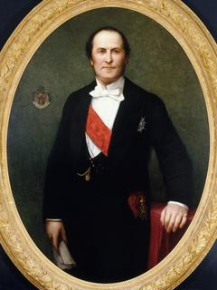 Portrait du baron Haussmann (1809-1891), préfet de la Seine (1853-1870)