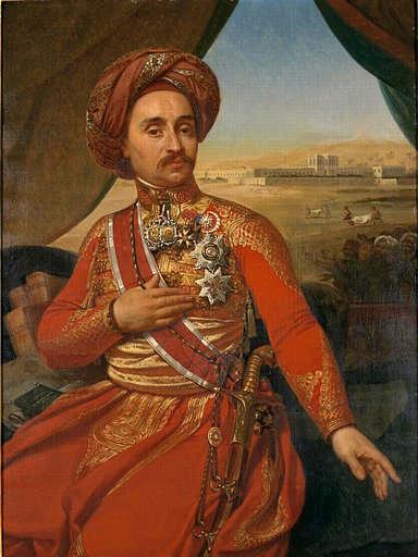 Portrait du Docteur Clot-Bey