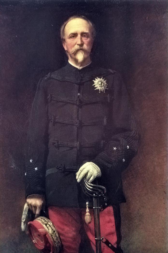 Portrait du général Henri d'Orléans, duc d'Aumale (1880)