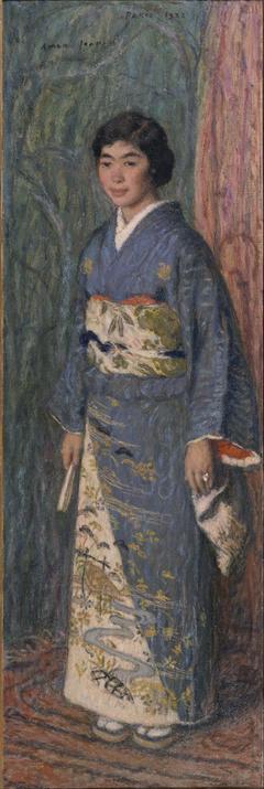 Portrait of a Japanese Woman (Mrs. Kuroki)