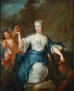 Portrait of a Lady of the Time of Louis XV Dressed as Hebe