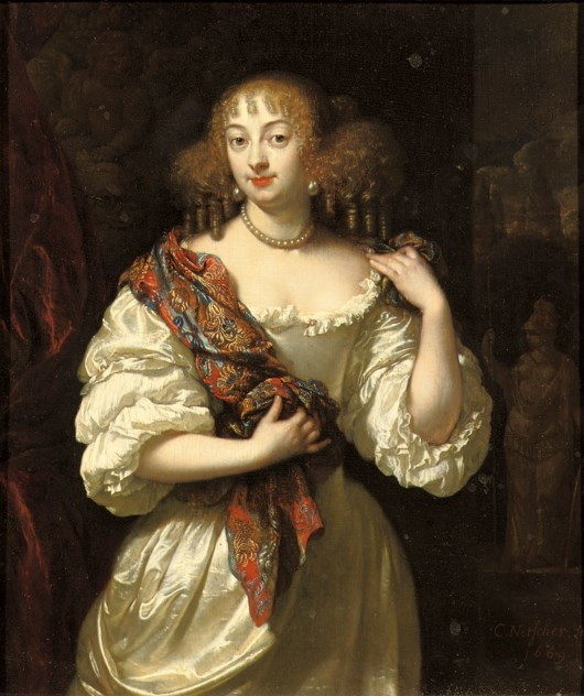 Portrait of a lady, said to be Barbara Villiers, Duchess of Cleveland