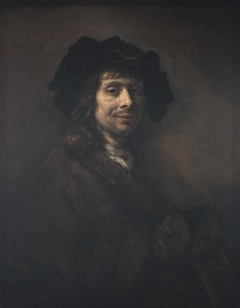 Portrait of a young man, possibly an artist