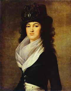 Portrait of Anna Lopukhina