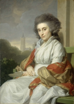 Portrait of Cornelia Rijdenius, Wife of Johannes Lublink II