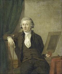 Portrait of Egbert van Drielst, Painter
