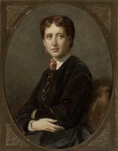 Portrait of Emilia Mielżyńska née Bnińska