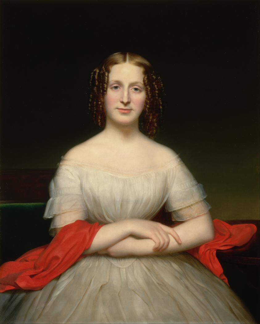 Portrait of Fidelia Marshall