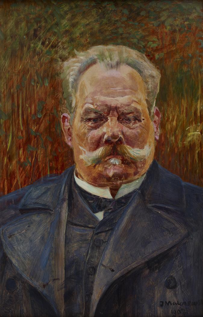 Portrait of Leon Schenrich
