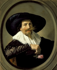 Portrait of Pieter Tjarck