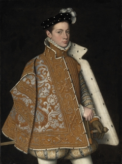 Portrait of Prince Alessandro Farnese (1545-1592), later Duke of Parma and Piacenza