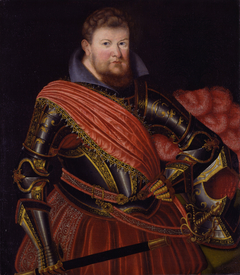 Portrait of Prince Elector Christian II of Saxony