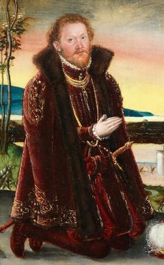Portrait of Prince Joachim Ernst von Anhalt (1536 - 1586)