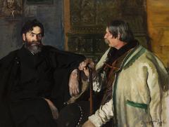 Portrait of Stanisław Witkiewicz with Wojciech Roj
