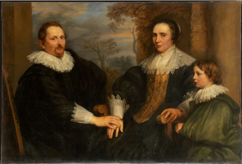 Portrait of the Antwerp Merchant Sebastiaen Leerse and his Family, ca. 1691 – 1740
