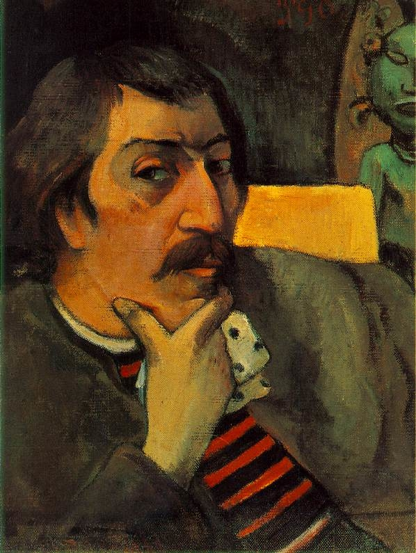 Portrait of the Artist with the Idol