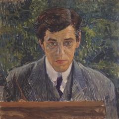 Portrait of the painter Carl Otto Czeschka