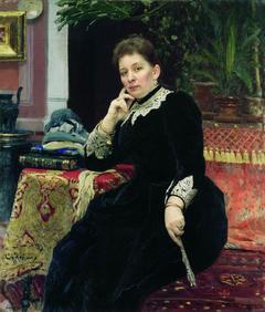 Portrait of the philanthropist Olga Sergeyevna Aleksandrova-Heinz
