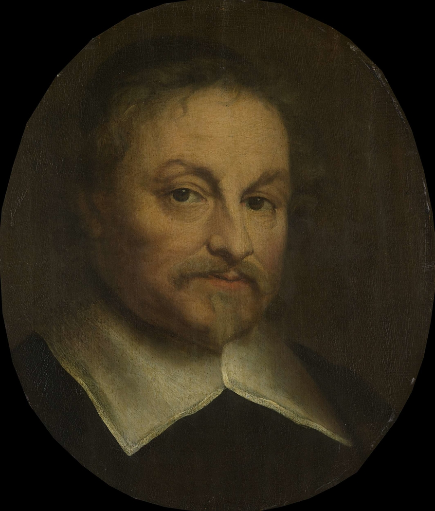 Portrait Of The Poet Joost Van Den Vondel Govert Flinck
