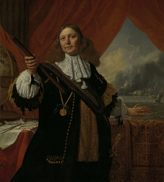 Portrait of Vice-Admiral Johan de Liefde