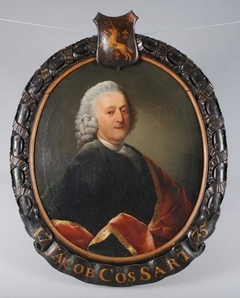 Portret van Jacob Jansz. Cossart (1713-1780), bewindhebber van de VOC tussen 1775 en 1780