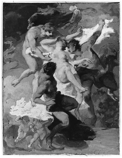 Psyche Carried Away by the Zephyrs