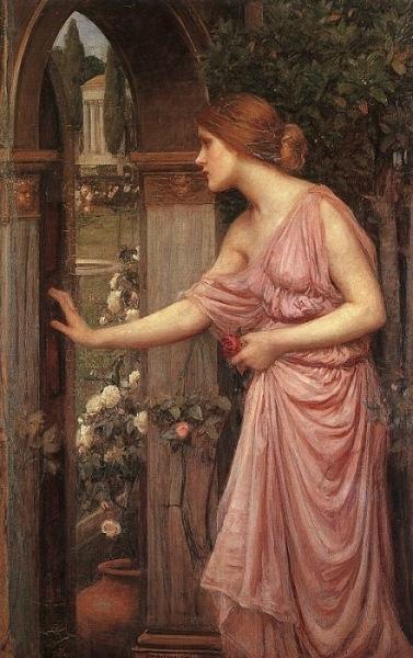 Psyche Opening the Door into Cupid's Garden