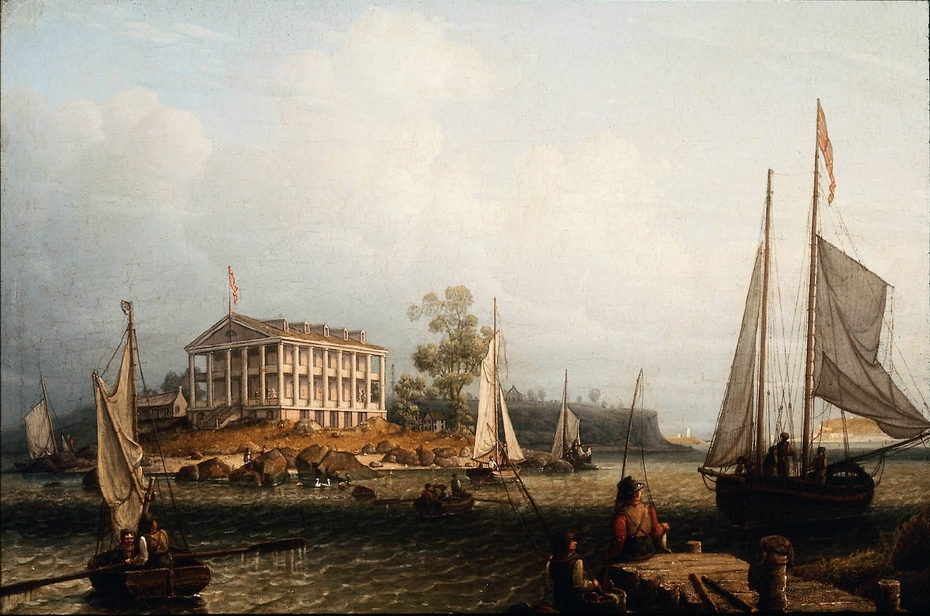 Rainsford's Island, Boston Harbor