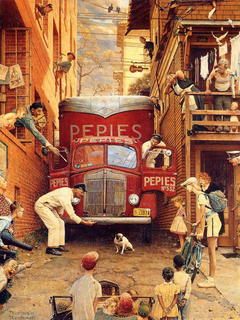 Golden Rule Norman Rockwell Artwork On Useum