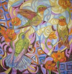 Ronde de colibris