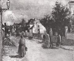 Rue de l'Hermitage, Pontoise (1879)