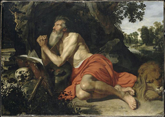 Saint Jerome in the desert