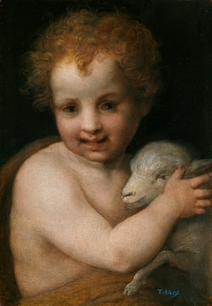 Saint John the Baptist with the Lamb