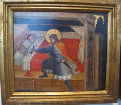Saint Julian killing his parents
