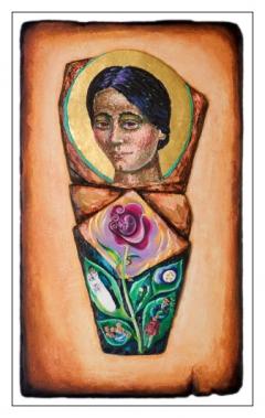 Saint Teresa Benedicta of the Cross,Edith Stein.