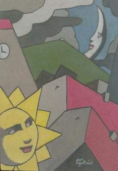 Serie Soles y Lunas. Sol y Luna III