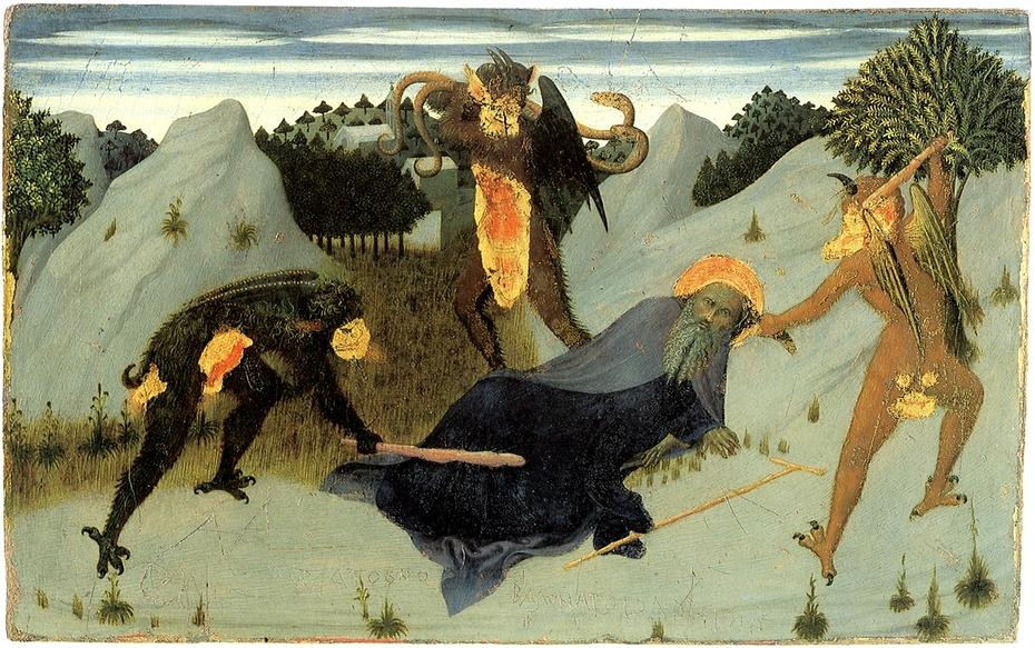 St. Anthony Beaten by Devils