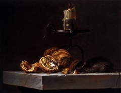 Still-Life with Mouse and Candle