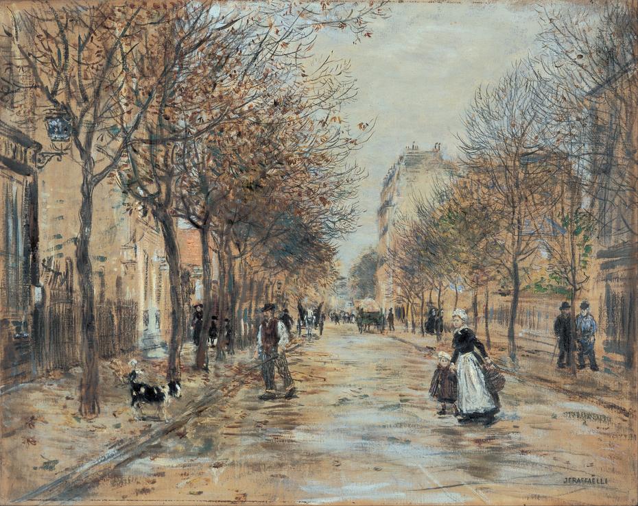 Street in Asnières