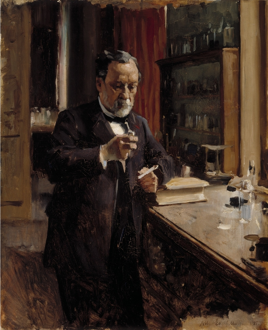 Study for the Portrait of Louis Pasteur