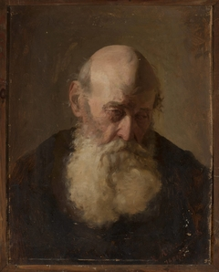 Study of an old man's head