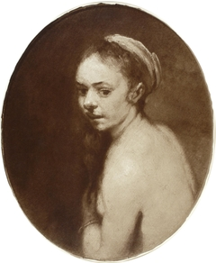 Study of Susannah Bathing